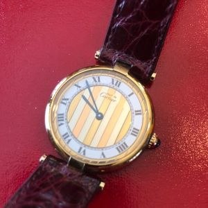 VNTG Must de Cartier Trinity watch - excellent